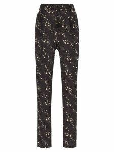Figue Alexa star print trousers - Black