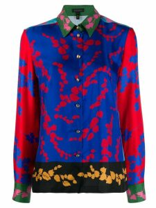 Escada floral print shirt - Blue