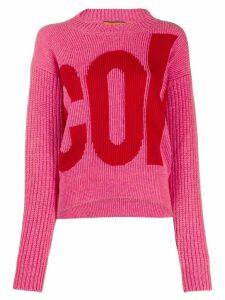 colville logo printed jumper - PINK