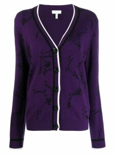 Escada Sport knitted cardigan - PURPLE