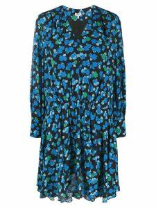 Kenzo floral-print dress - Black