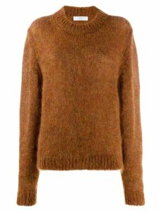 Roseanna textured knit jumper - Brown