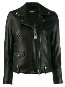 Diesel L-LYFA biker jacket - Black