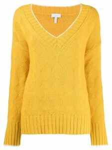 Escada Sport V-neck jumper - Yellow
