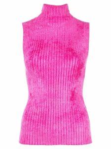 Sies Marjan ribbed sleeveless top - PINK