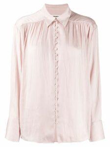 Zadig & Voltaire satin shirt - PINK