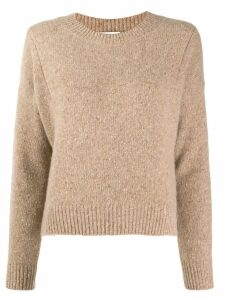 Vince crew-neck knit sweater - Neutrals