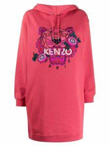 Kenzo Tiger hoodie dress - Pink