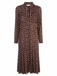 Diane von Furstenberg paisley print midi dress - Black