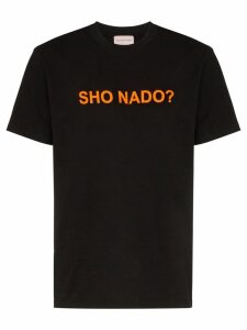 Natasha Zinko slogan print T-shirt - Black