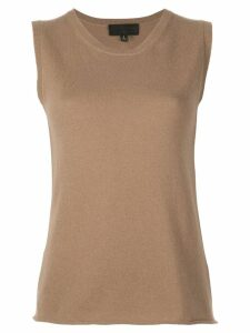 Nili Lotan knitted top - Brown