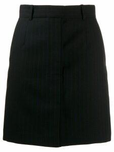Sandro Paris striped skirt - Black