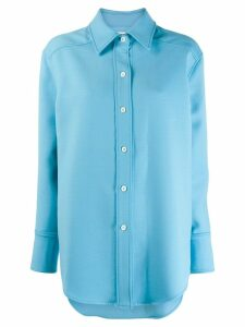 Courrèges loose fit shirt - Blue