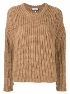 Paul & Joe cable knit jumper - Brown