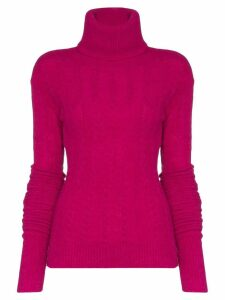 Jacquemus long-sleeved knitted jumper - PINK