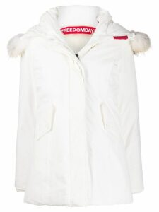Freedomday Chamois coat - White