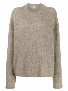 Toteme boxy fit sweater - Neutrals
