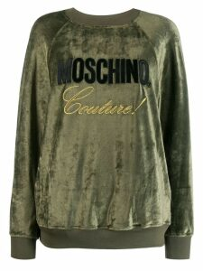 Moschino Couture! logo sweatshirt - Green