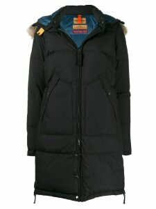 Parajumpers fur hood padded coat - Black