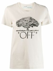 Off-White arrows printed T-shirt - NEUTRALS