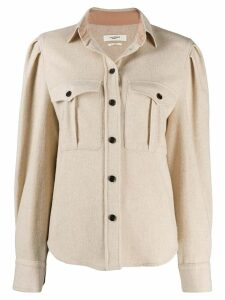 Isabel Marant Étoile Florri relaxed-fit shirt - NEUTRALS