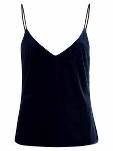 Galvan velvet top - Blue