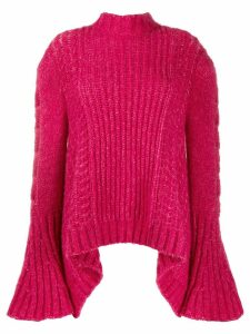 Stella McCartney bell sleeved jumper - PINK