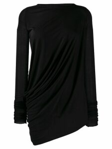 Rick Owens Lilies draped detail top - Black