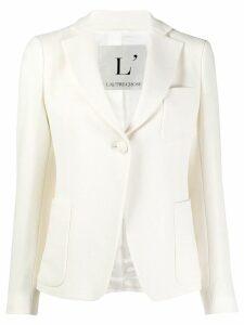 L'Autre Chose wool single-breasted blazer - White