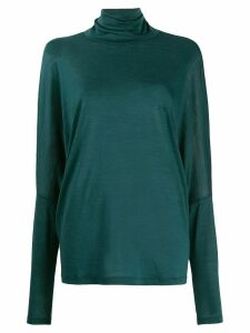 Aspesi roll-neck jumper - Green