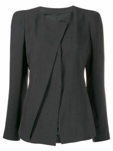 Giorgio Armani pleated jacket - Grey