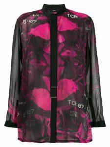 Diesel floral blouse - Black