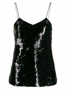 Iro sequin embroidered top - Black