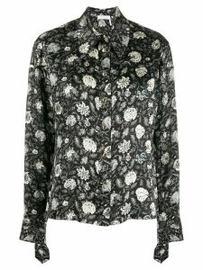 Chloé floral shirt - Black