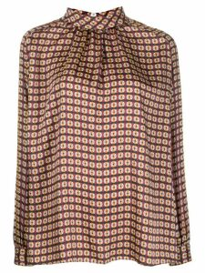 Mulberry Hettie dotted blouse - Red