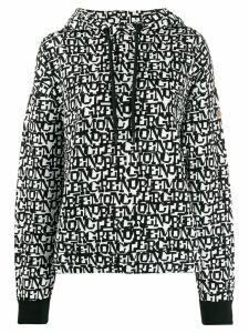 Moncler Grenoble graphic print hoodie - Black