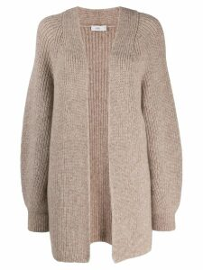 Closed knitted cardigan - 287