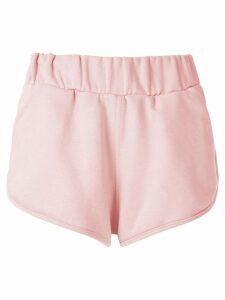 Andrea Bogosian Panama embellished shorts - PINK