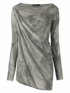 Uma Raquel Davidowicz Central tinted blouse - Grey