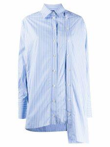 Rokh double button placket shirt - Blue
