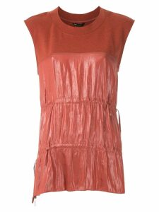 Uma Raquel Davidowicz Calder silky blouse - Red