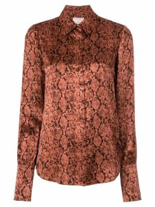 Cinq A Sept Python Isha top - Red