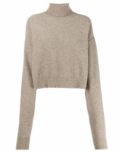 Andrea Ya'aqov plain turtleneck jumper - Neutrals