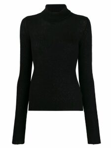 Andrea Ya'aqov plain turtleneck jumper - Black