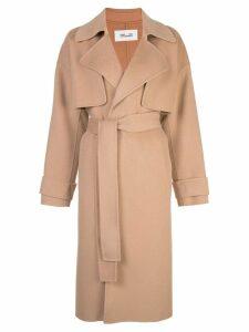Diane von Furstenberg belted trench coat - Brown