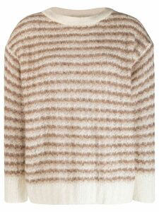 Theory striped knit sweater - Brown