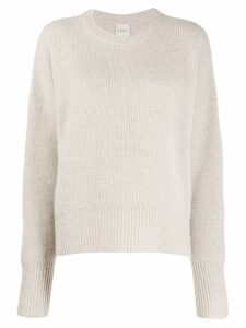 Le Kasha evreux oversized jumper - Brown