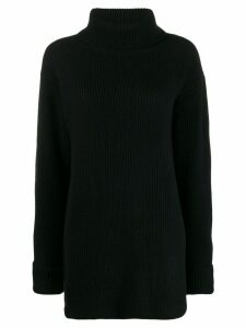 Le Kasha Arles roll neck jumper - Black