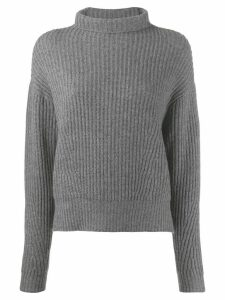 Le Kasha Verbier knitted jumper - Grey