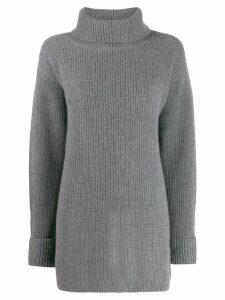 Le Kasha Arles longline jumper - Grey